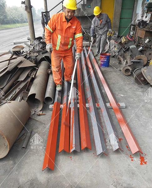 重庆合川盐化工业有限公司锅炉烟囱检测平台修复施工